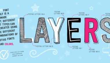 117474 380x220 - Font dňa – Festivo Letters (zľava 80%, komplet 13,60€)