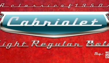 129344 380x220 - Font dňa – Cabriolet (zľava 40%, od 15,59€)