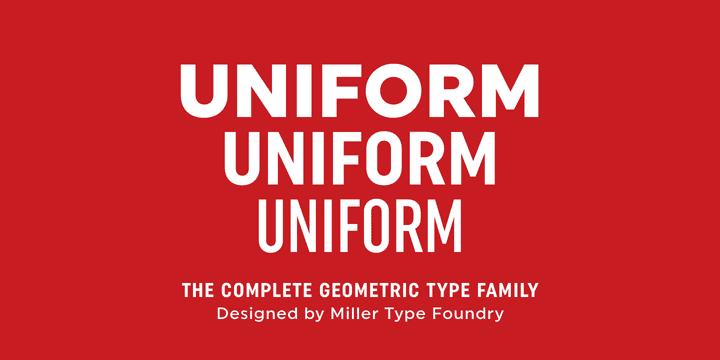 151733 - Font dňa – Uniform (zľava 65%, rodina od 26,60€)