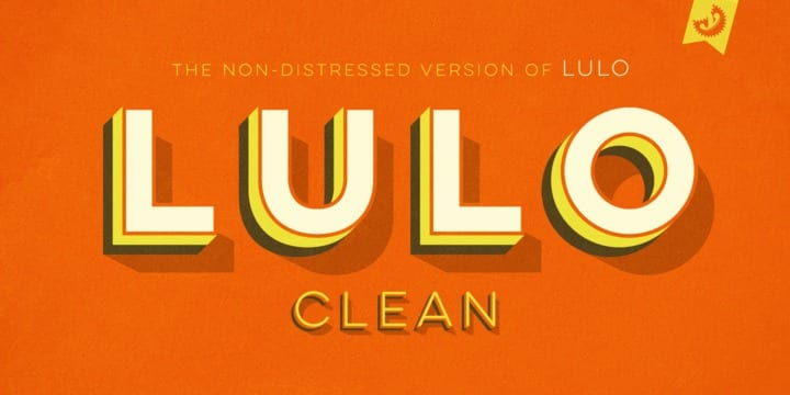 153584 - Font dňa – Lulo Clean