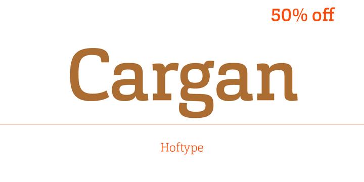 154496 - Font dňa – Cargan (zľava 50%, od 18€)