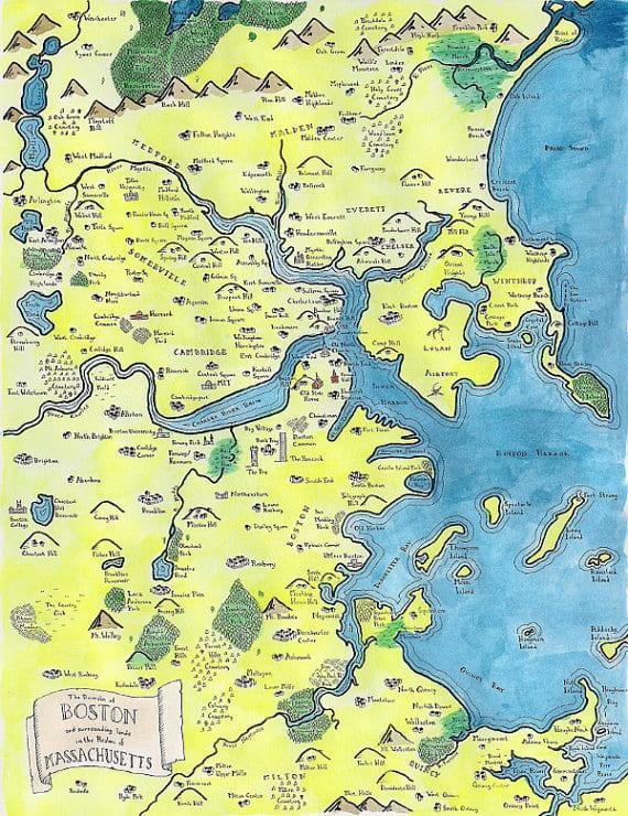 il 570xN.668910100 9bf4 - USA mapy inšpirované kartografiou Stredozeme