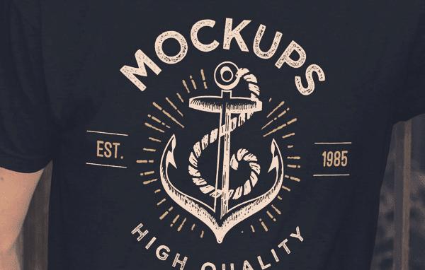 img - Mockup trička zadarmo!