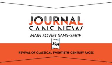139454 380x220 - Font dňa – Journal Sans New (zľava 30%, od 25,89€)