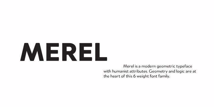 151048 - Font dňa – Merel (zľava 80%, od 4,80€)