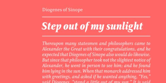 154783 580x290 - Font dňa – Diogenes (zľava 50%, od 19,50€)