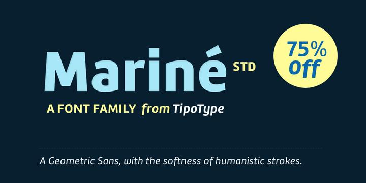 155589 - Font dňa – Mariné STD (zľava 75%, od 3,75€, rodina 16,50€)