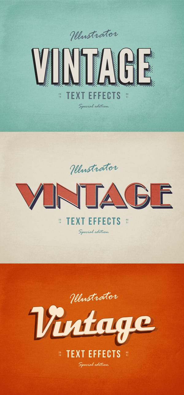 3-Illustrator-VIntage-Text-Effects-600