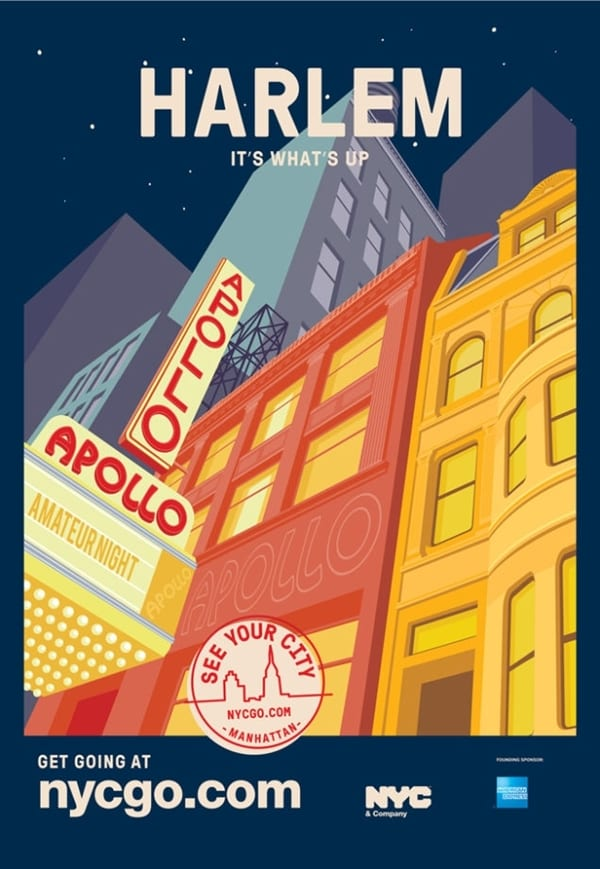 3 - Urban turistika pre domácich na sérii plagátov