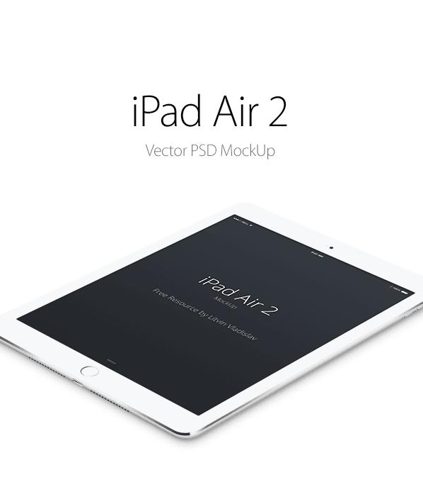 cover1 - Mockup iPad Air 2 zadarmo!