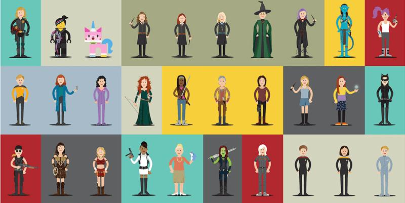 cover3 800x401 - Hall of Heroes – séria ilustrácií ženských hrdiniek