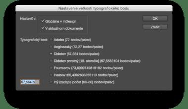 01 Nastavenie ak je otvoreny dokument 380x220 - Skript pre nastavenie veľkosti typografického bodu – InDesign