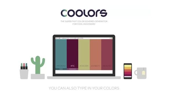 11 - Nájdite tú správnu paletu s Coolors!