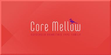 128418 380x190 - Font dňa – Core Mellow (zľava 90%, od 1,50€, komplet 12,50€)