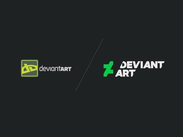 2 - Deviant Art mení logo i web