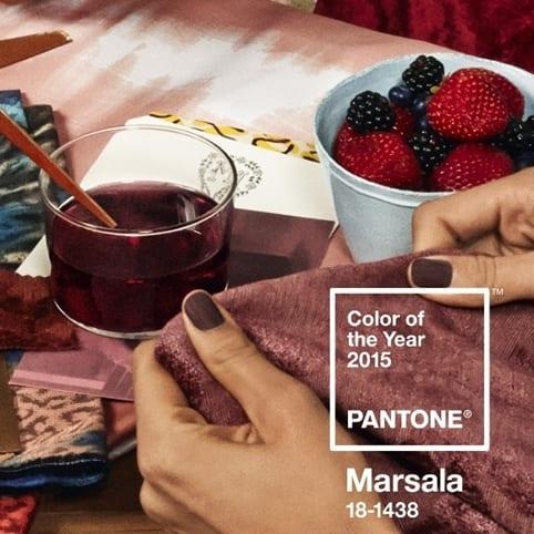 660 - Marsala – PANTONE farba 2015
