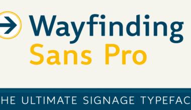75434 380x220 - Font dňa – Wayfinding Sans Pro (zľava 75%, od 9€)