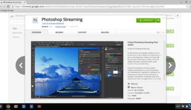 Streaming Ps in the Chrome Store.0 380x220 - Photoshop vo vašom prehliadači – Photoshop Streaming