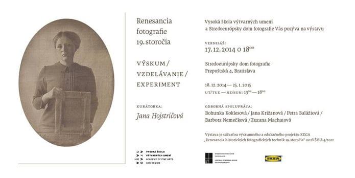 pozvanka renesancia fotografie 1418679106 - Renesancia fotografie 19. storočia