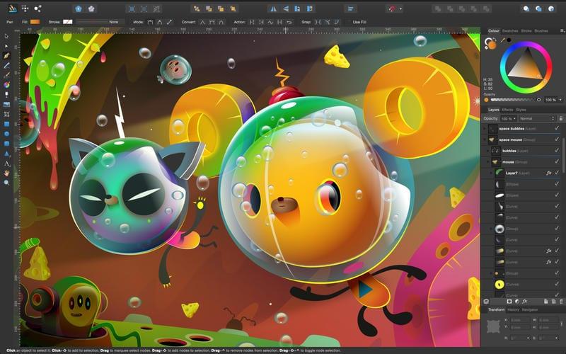 screen800x500 - Affinity Designer aplikáciou č. 2 v App Store