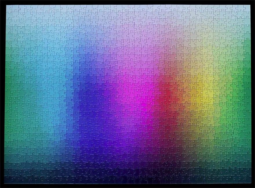 1000 colours color jigsaw puzzle clemens habicht 8 - 1000 farieb v jedinom puzzle
