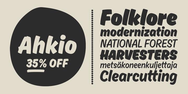 156659 - Font dňa – Ahkio (zľava 35%, od 12,34€)