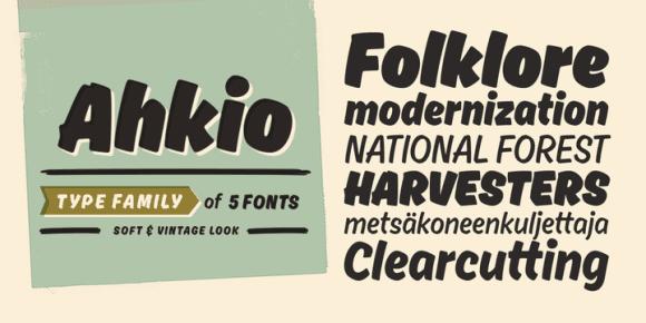 157043 580x290 - Font dňa – Ahkio (zľava 35%, od 12,34€)
