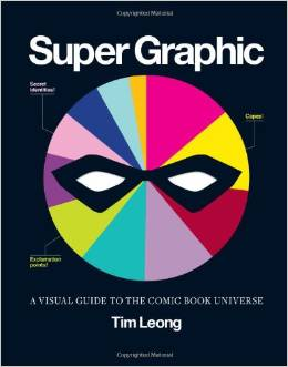 ed41be591536d0ce039bc7b6e2e01316 - Vyhraj knihu Super Graphic: A Visual Guide to the Comic Book Universe!