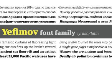 f0661969801c289832640aa8c8fee6ed 380x220 - Font dňa – Yefimov Serif (zľava 70%, od 12,30€)