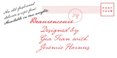 dcdc8d74ca85d74f10ed21338ab58e37 380x190 - Font dňa – Beaurencourt FY (zľava 50%, od 12,50€)