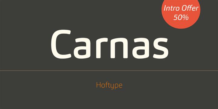 14ace06c8b96bacf6d3340b701ea53ef - Font dňa – Carnas (zľava 50%, rodina 85€)