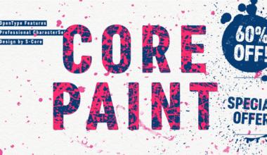 18a0fb2d56ae0179876c6588d02dd9c0 380x220 - Font dňa – Core Paint (zľava 60%, od 6,80€)