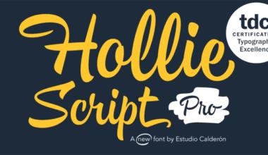 28edb7d15e37c2e8950df616de3ca889 380x220 - Font dňa – Hollie Script Pro