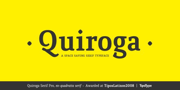 38c947138467d6fd02d88ad5284eca24 - Font dňa – Quiroga Serif Pro (zľava 80%, od 5€)