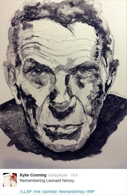 LeonardNimoy-art-tribute-08