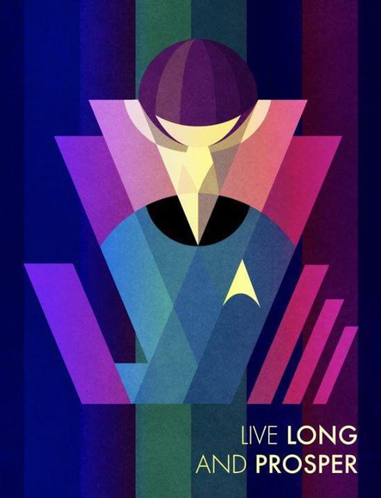 c81e728d9d4c2f636f067f89cc14862c2 - Live long and prosper – fan art, ktorý si pripomína Leonarda Nimoya