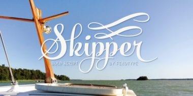 164908 380x190 - Font dňa – Skipper (zľava 35%, od 19,49€)