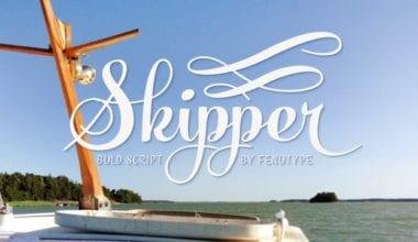 164908 380x220 - Font dňa – Skipper (zľava 35%, od 19,49€)