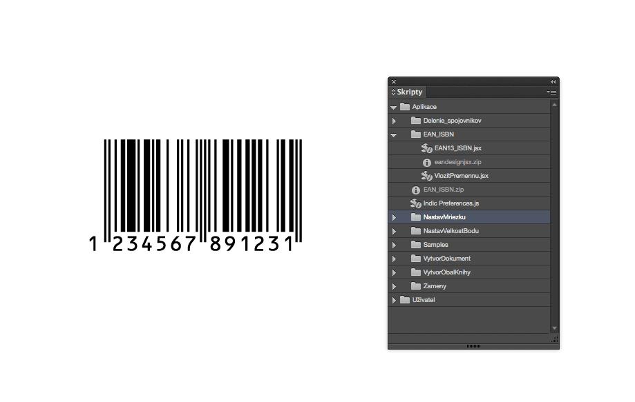 229e8192a023bd6da58603b49f313594 - Skript pre vkladanie EAN-13 a ISBN kódov – InDesign