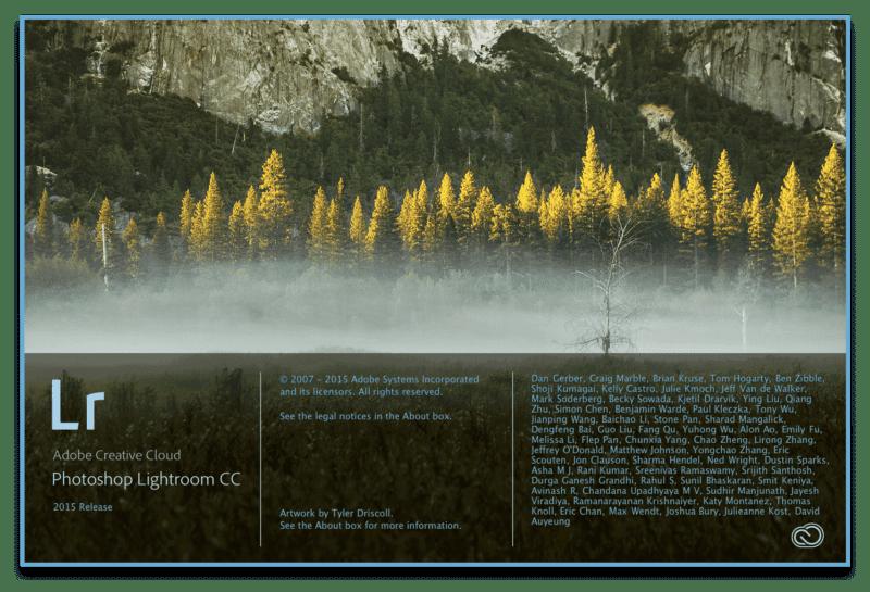 lightroom cc uvodni obrazovka 800x545 - Novinky v Adobe Lightroom CC a Lightroom 6