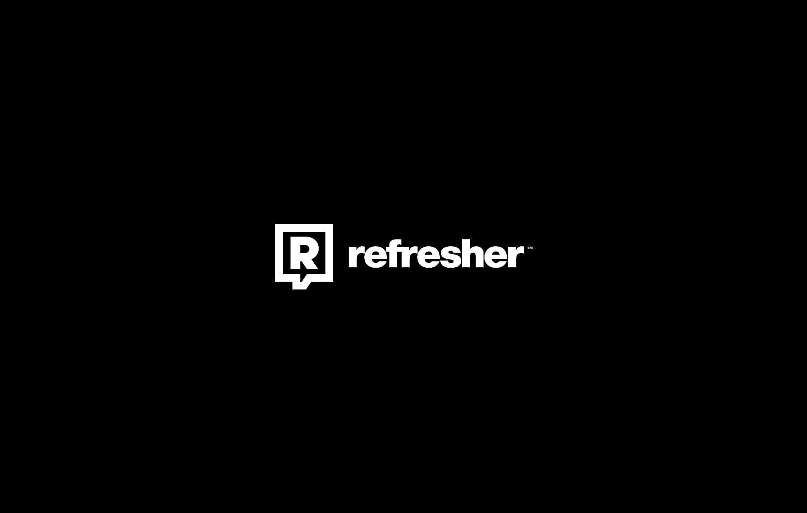 01 0 - Domáci grafický dizajn: Logo Refresheru ocenené na svetovej súťaži