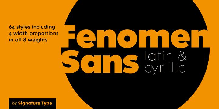 166429 - Font dňa – Fenomen Sans