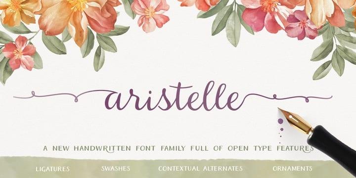 167314 - Font dňa – Aristelle (od 7,99€)