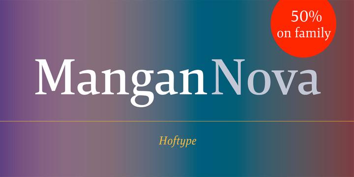 169572 - Font dňa – Mangan Nova (rodina 82,50€)