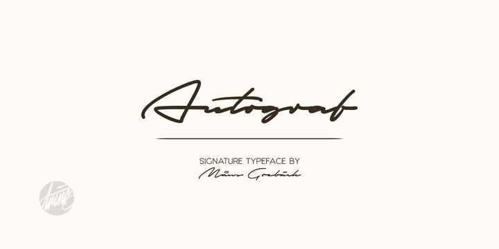 171235 - Font dňa – Autograf
