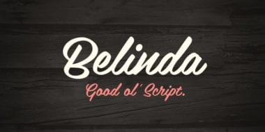 58127 380x190 - Font dňa – Belinda (18,84€)
