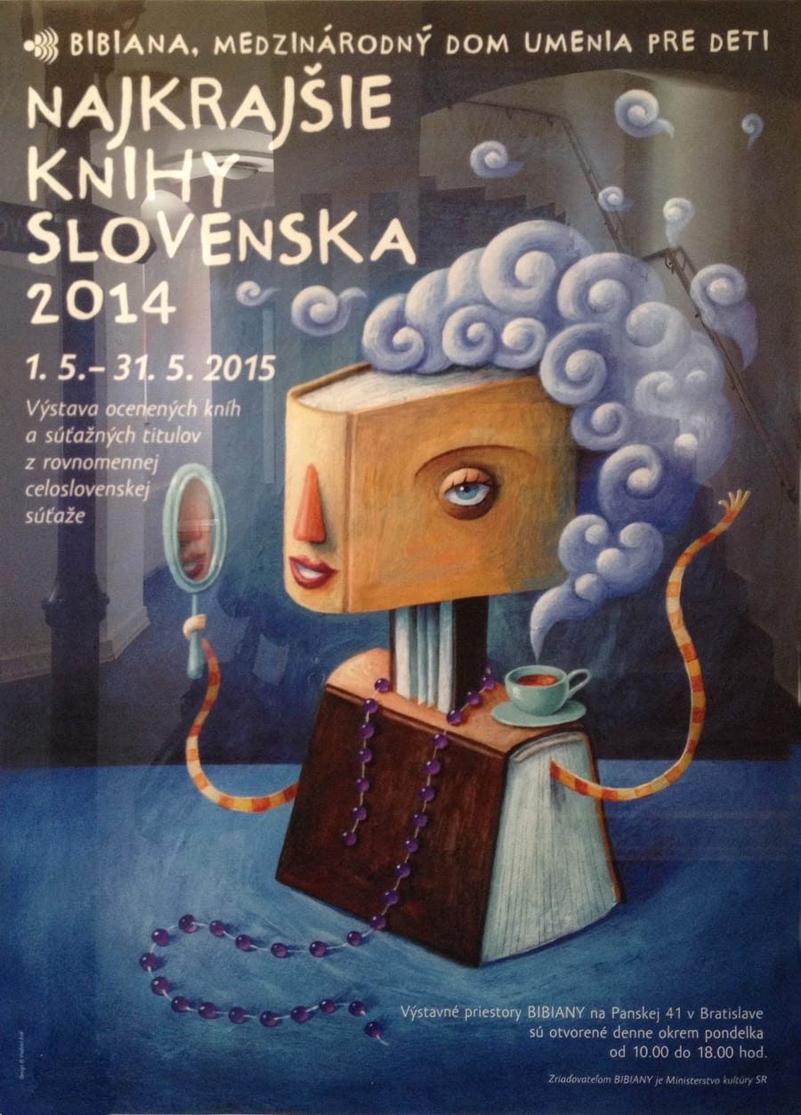 bibiana najkrajsie knihy slovenska 2014 - Najkrašia slovenská kniha 2014