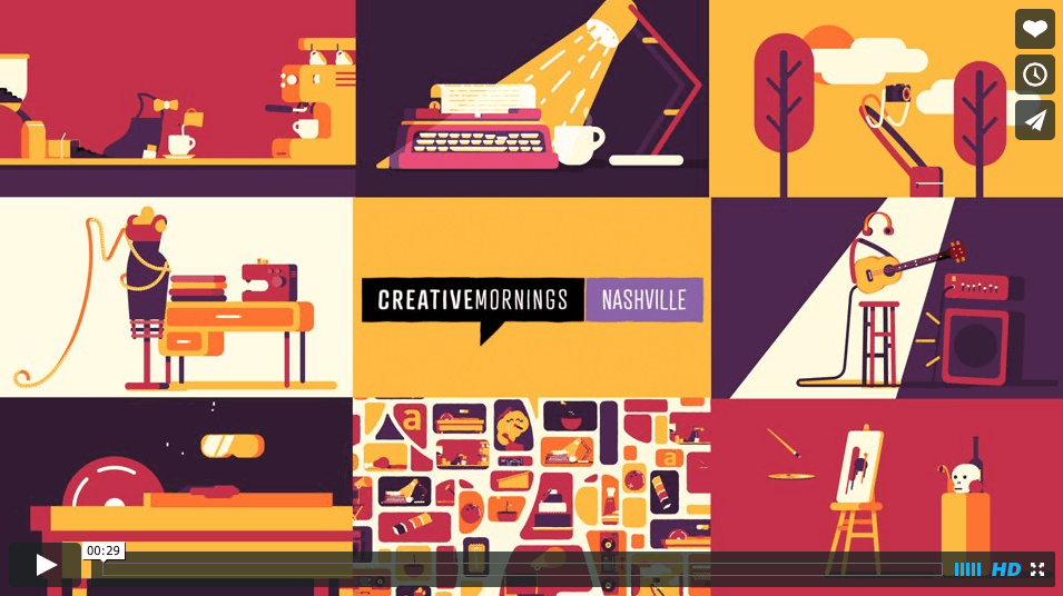 snimka obrazovky 2015 05 01 o 9.13.30 - Pohyblivá inšpirácia – Creative Mornings Nashville