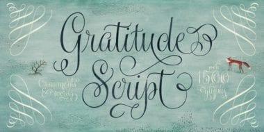169357 380x190 - Font dňa – Gratitude Script
