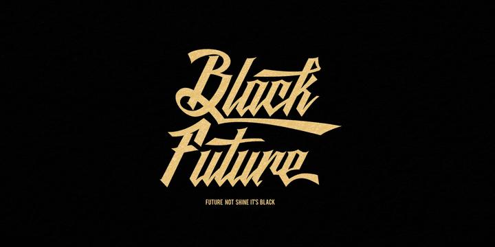 170202 - Font dňa – Black Future (9€)